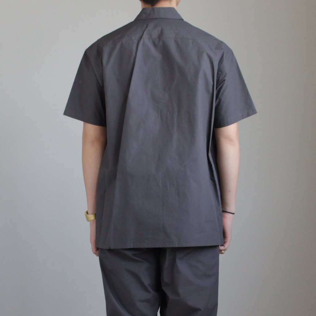 TYPEWRITER S/S BOX SHIRT #GRAY [GM181-50080B]