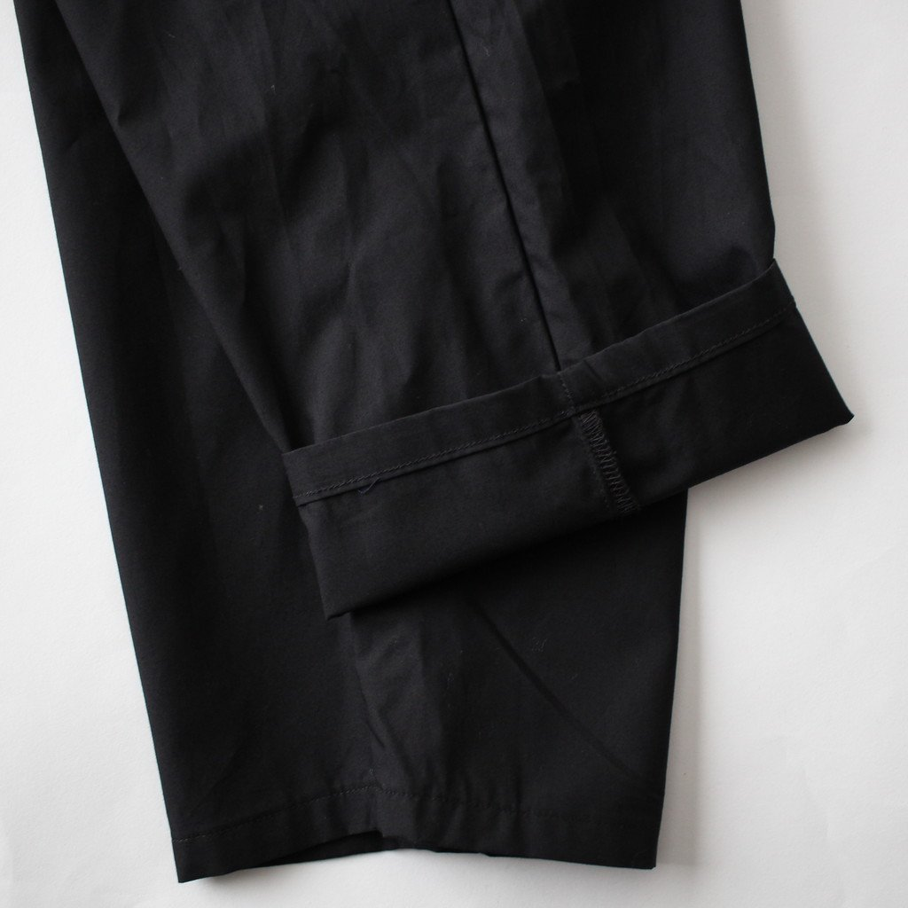 TYPEWRITER COOK PANT #BLACK [GM181-40082B]