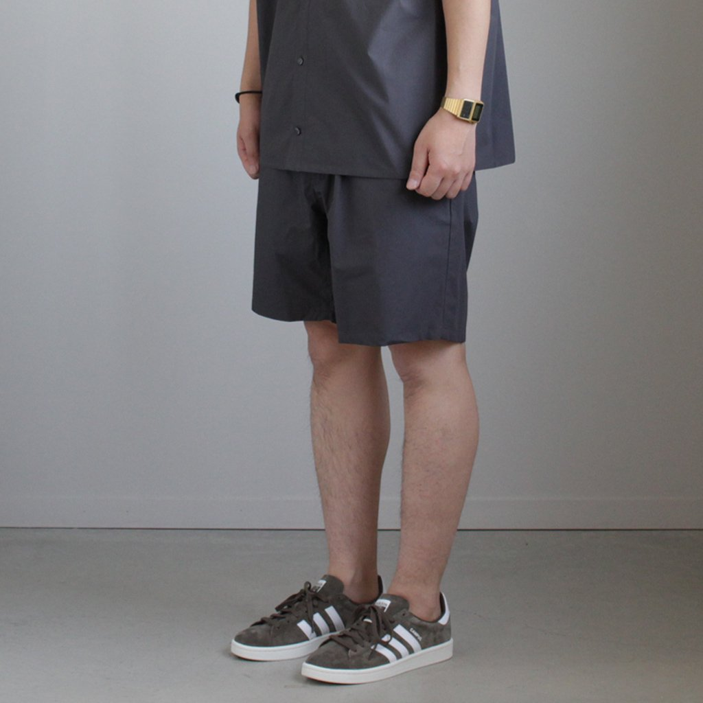 TYPEWRITER COOK SHORTS #GRAY [GM181-40083B]