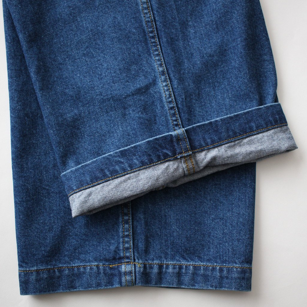 DENIM BAGGY PANT SX #SAX [GM181-40048B]