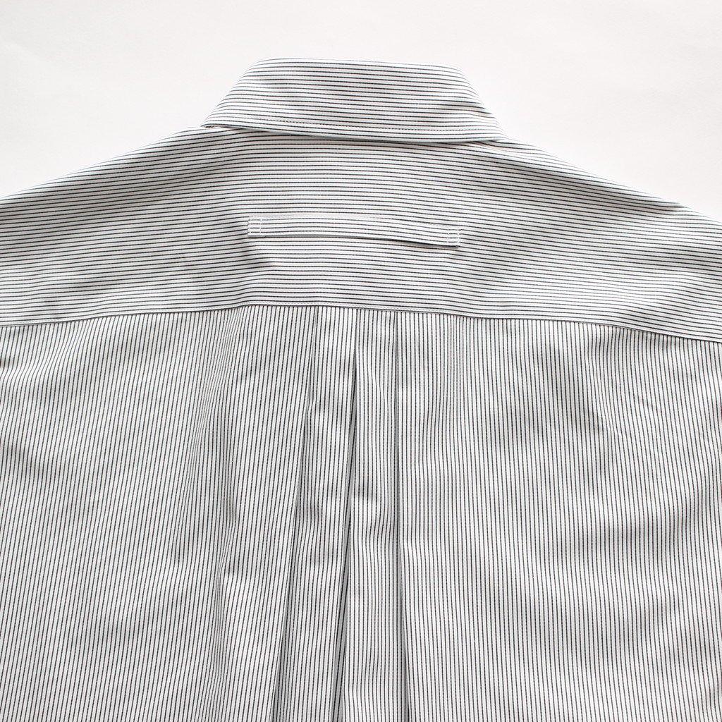スクエアビッグシャツPO #PENCIL STRIPE [TAHS-301-02]