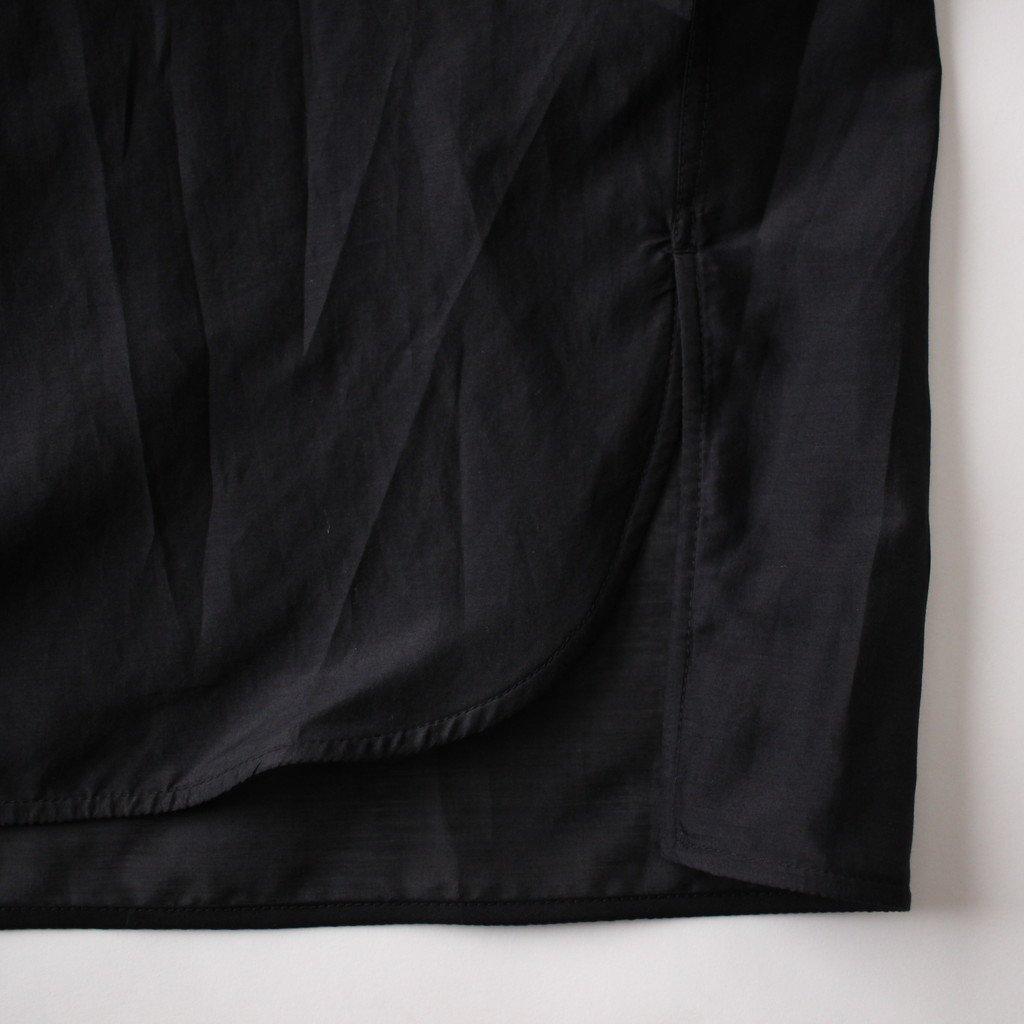 TICCA | ティッカ ギャザーブラウス #BLACK [TAHS-325-01]