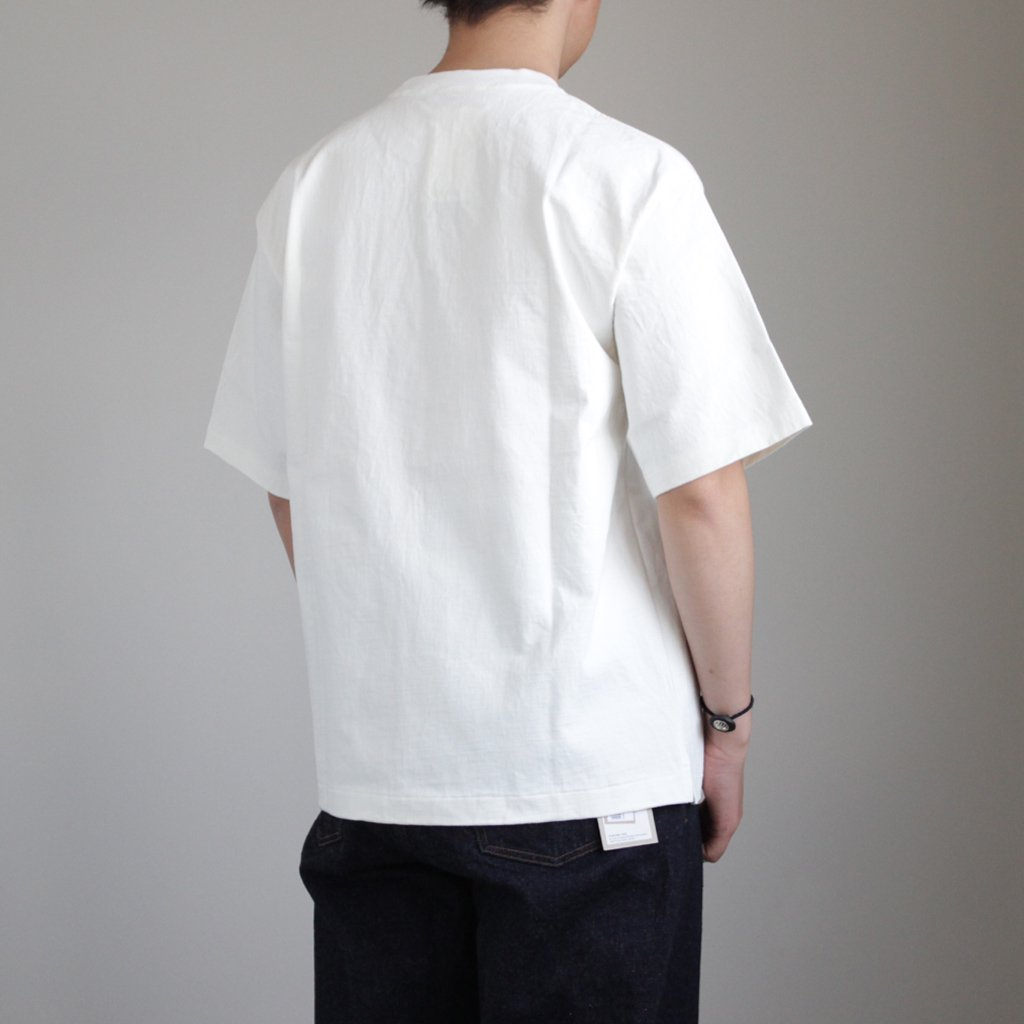 STAND-UP TEE #WHITE [A8ST01SU]