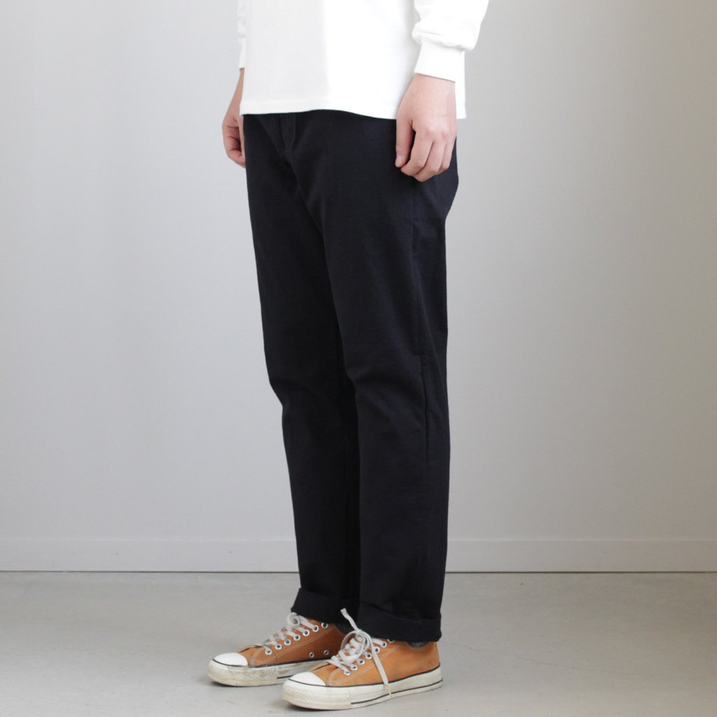 AURALEE | オーラリー STAND-UP EASY PANTS #BLACK [A8SP02SU]