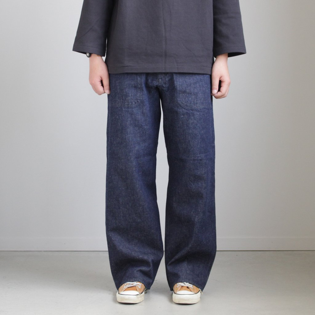 LIKE WEAR DECK PANTS #INDIGO [28602]