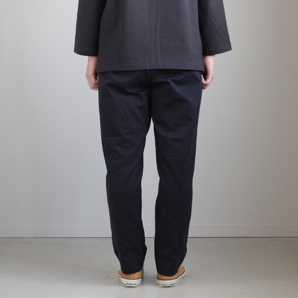YAECA | ヤエカ CHINO CLOTH PANTS TAC TAPERD #D.NAVY [18603]