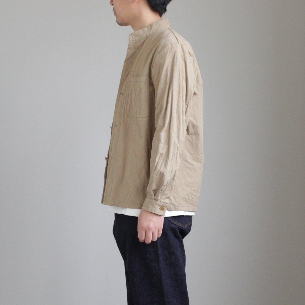 YAECA   ヤエカ STAND COLLAR JACKET #KHAKI [48303]
