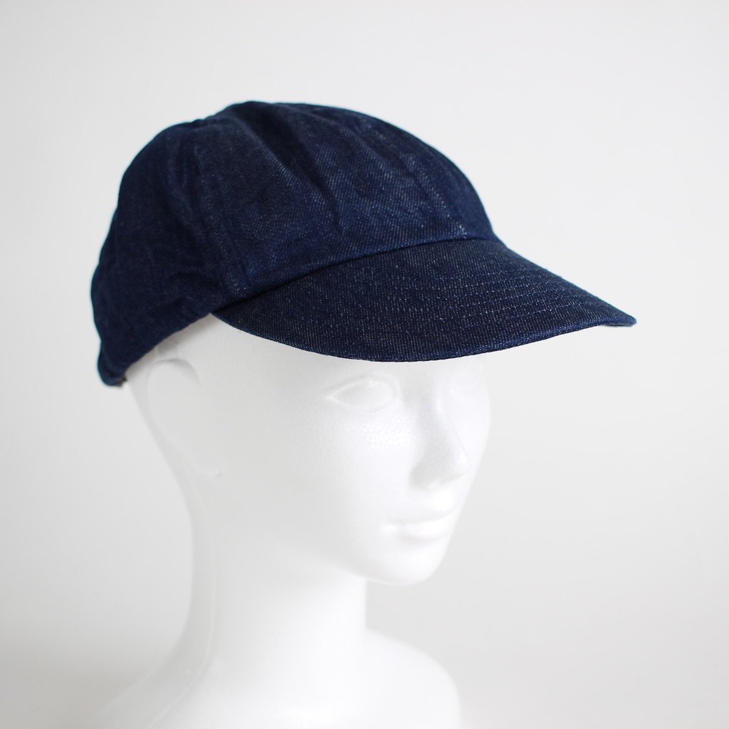 DENIM CAP #INDIGO [NO.12306]