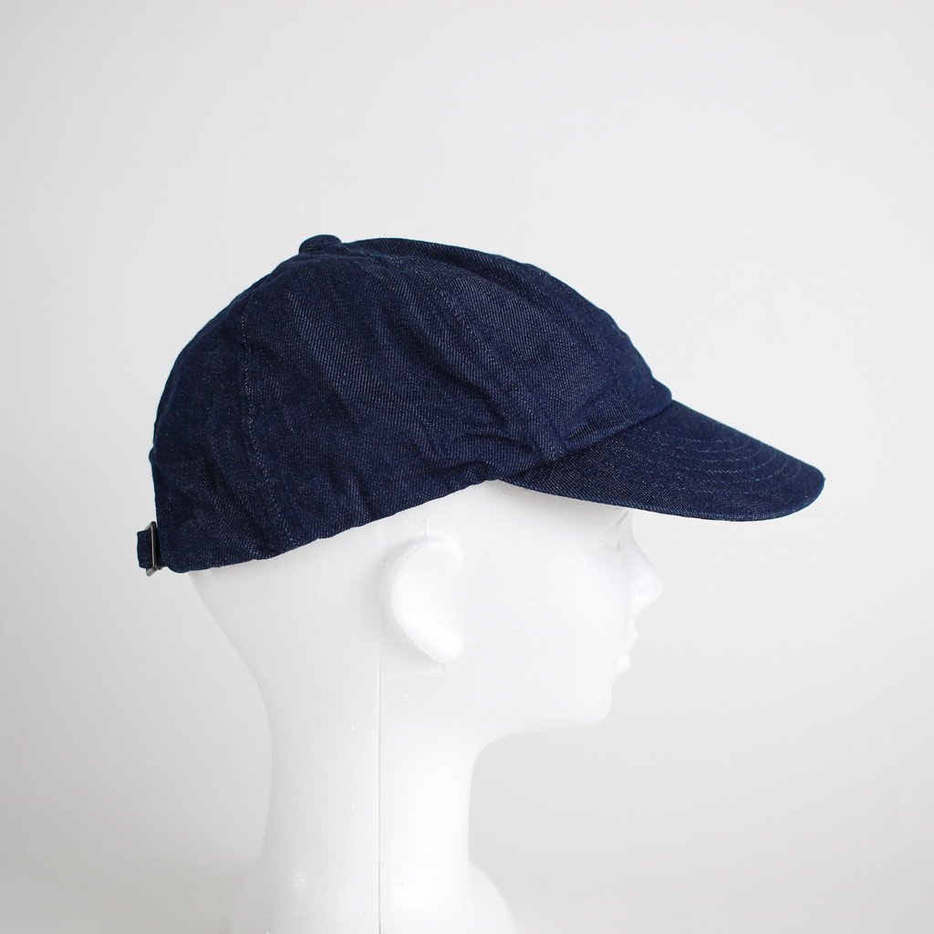 DENIM CAP #INDIGO [NO.12306]