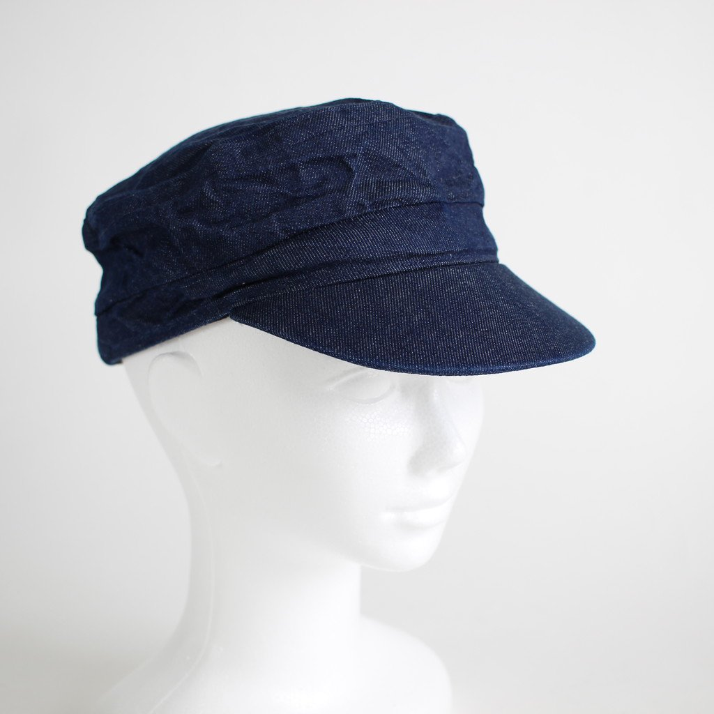 DENIM WORK MARINE CAP #INDIGO [NO.12311]