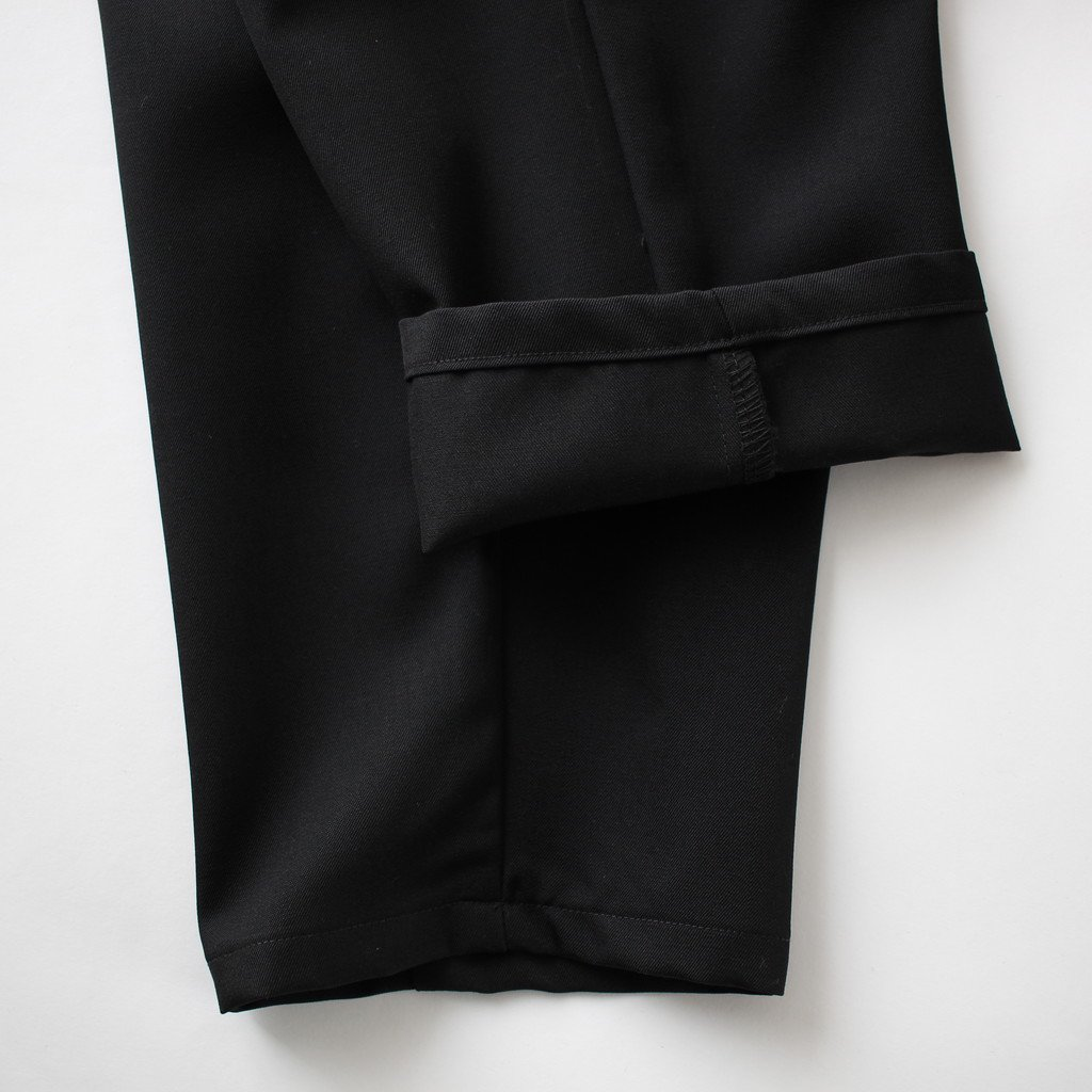 OFFSCALE WOOL COOK PANT #BLACK [GM181-40087B]