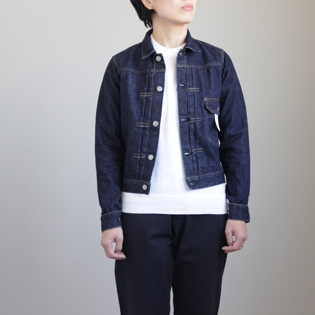 BRENDA THE 1ST TYPE JEAN JACKET #INDIGO [L1801-JJ001]