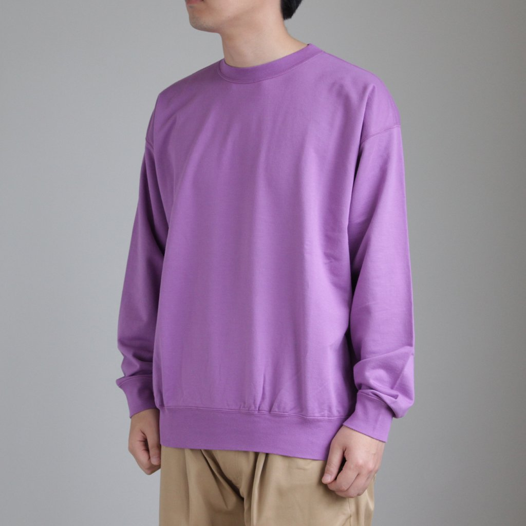 SUPER HIGH GAUGE SWEAT BIG P/O #PURPLE [A8SP01NU]