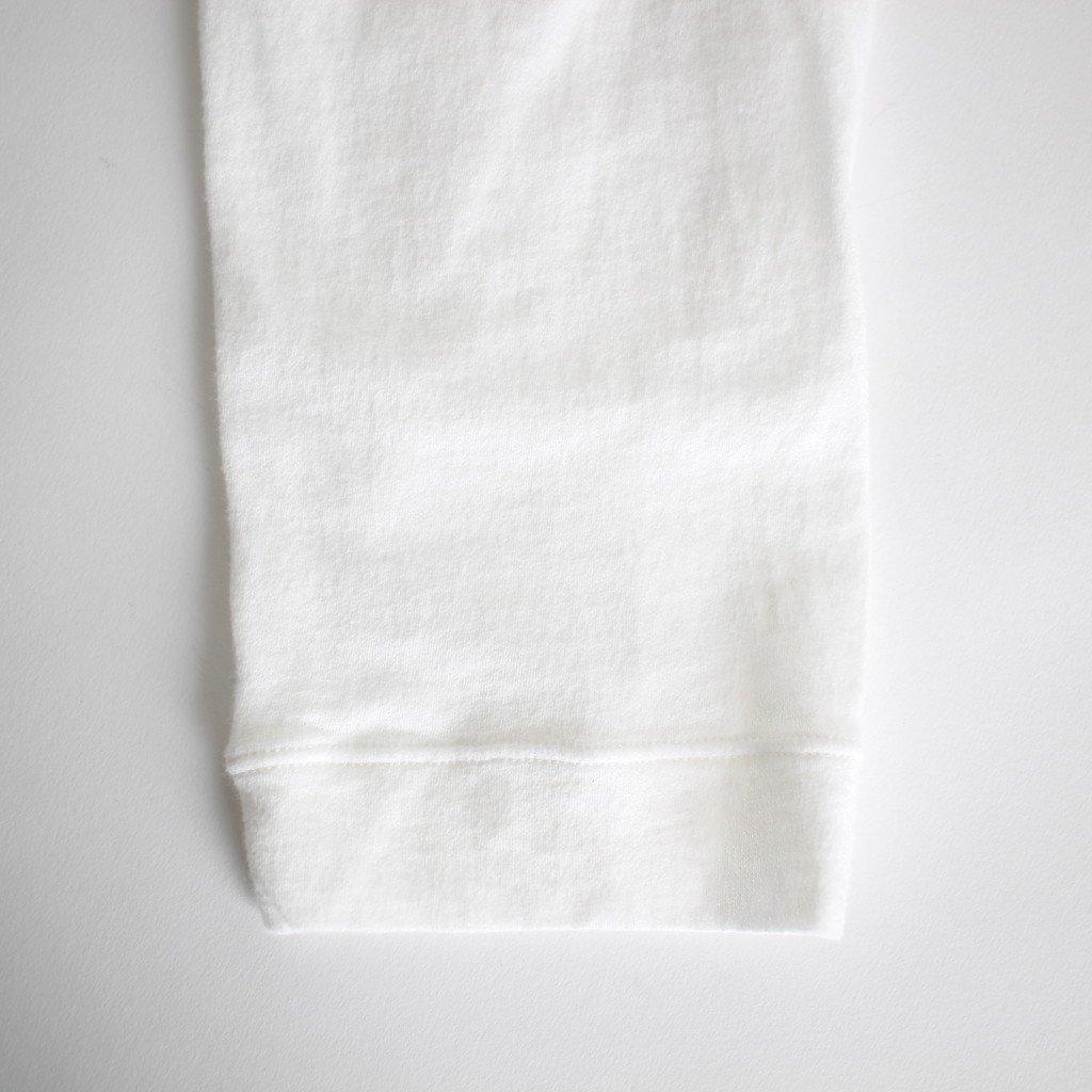 FIRMUM | フィルマム FPKT7|トルファンコットンアムンゼンニット カットソー #WHITE [S8-FR091T7]
