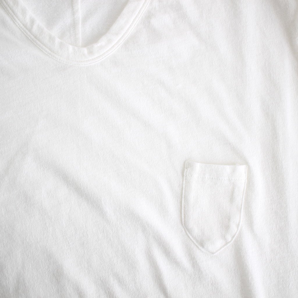 FIRMUM | フィルマム FPKT7|トルファンコットンアムンゼンニット カットソー #WHITE [S8-FR096T7]