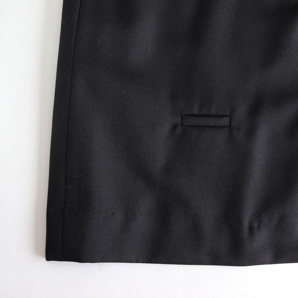 よそいきノーカラーJK-S #BLACK [D118-J108-S]