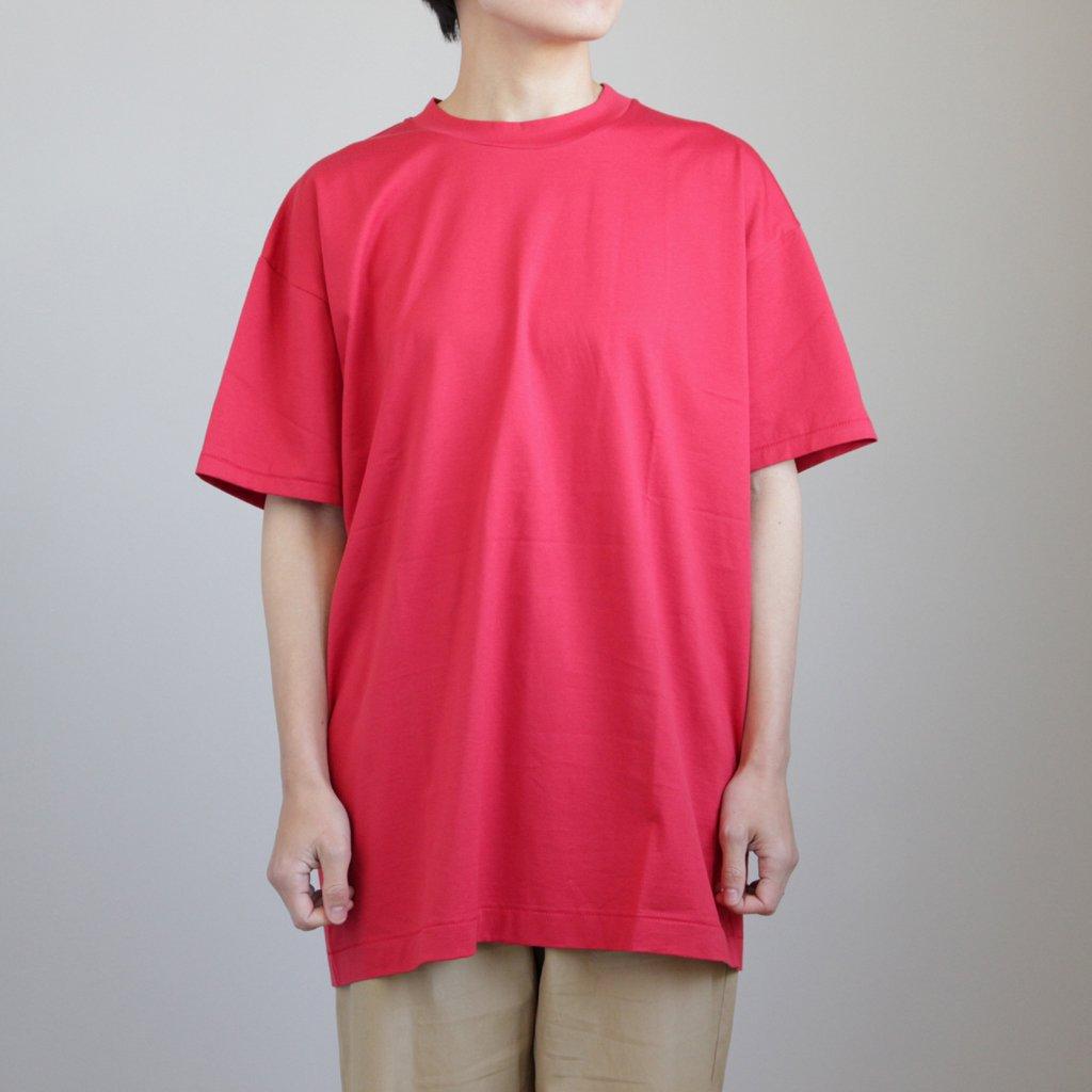 OVERSIZED T-SHIRT #RED [KKAGYM0308]