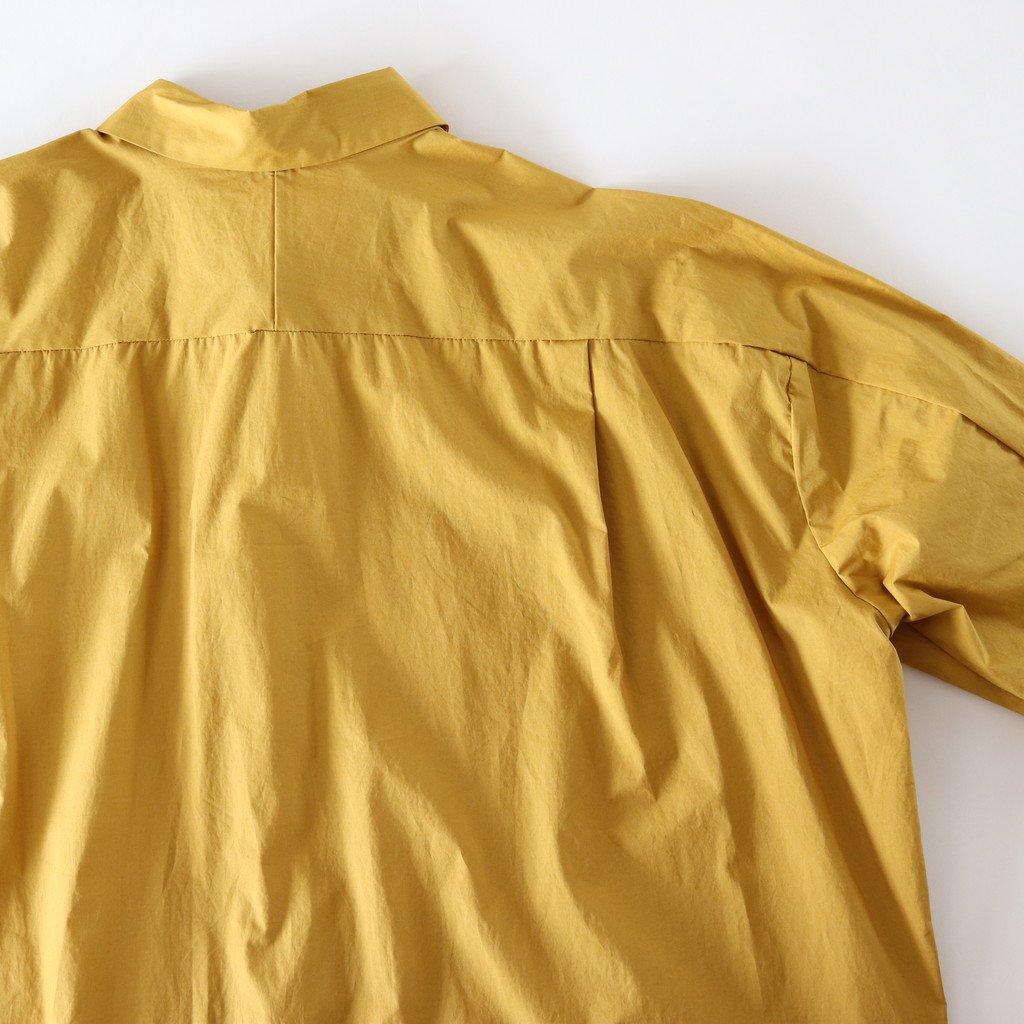 ヨークスリーブシャツ #MUSTARD [D118-T710]
