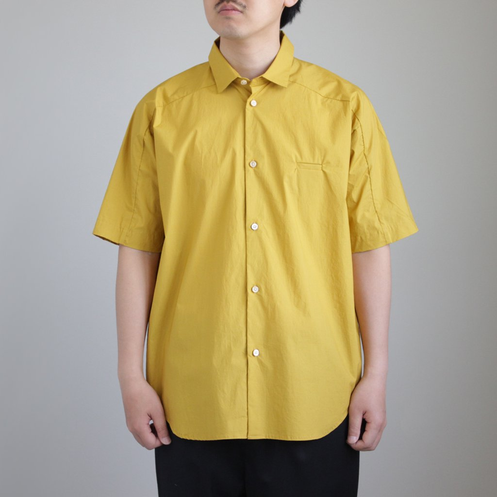 Sヨークスリーブシャツ #MUSTARD [D118-T711]