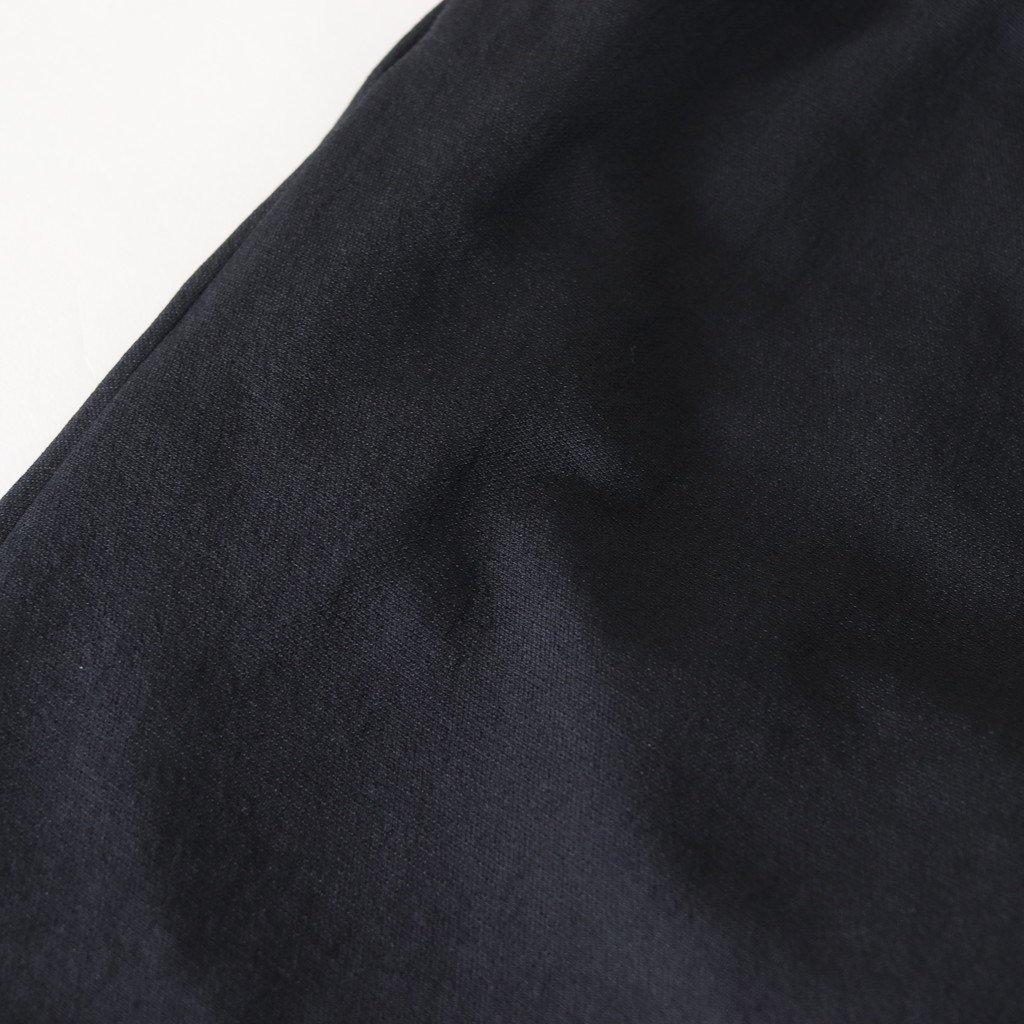 NTWSL|ポリエステルドビーブッチャー イージーテーパードパンツ #BLACK [S8-NC132PF]