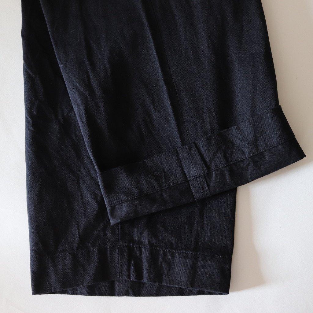 YAECA   ヤエカ CHINO CLOTH PANTS WIDE #D.NAVY [18604]