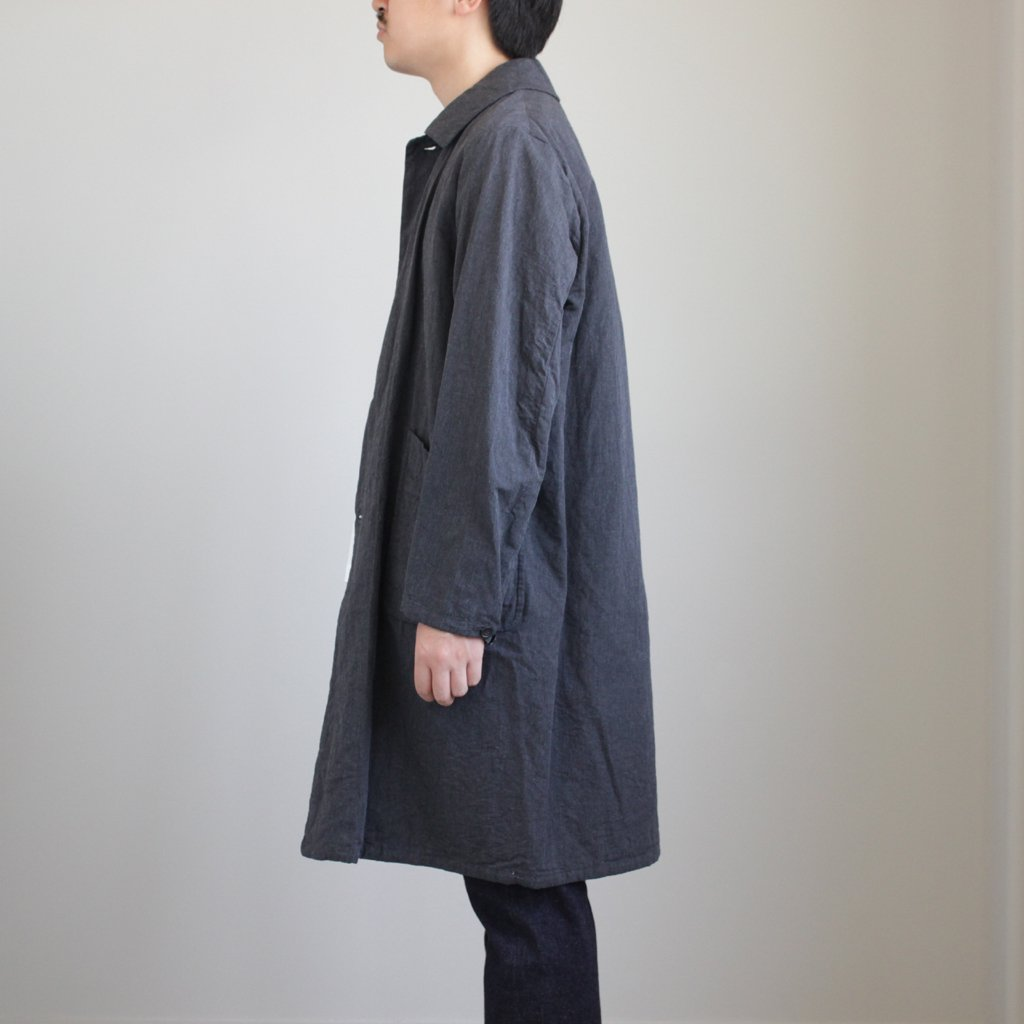 YAECA | ヤエカ A LINE DUSTER COAT #GRAY [48502]