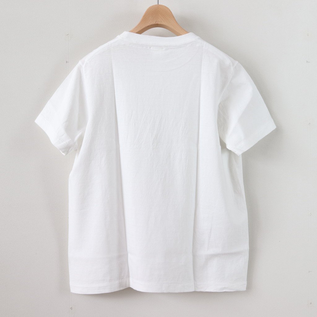丸胴 CREW NECK TEE KEN KAGAMI - SMART CHIPS #WHITE [88007]