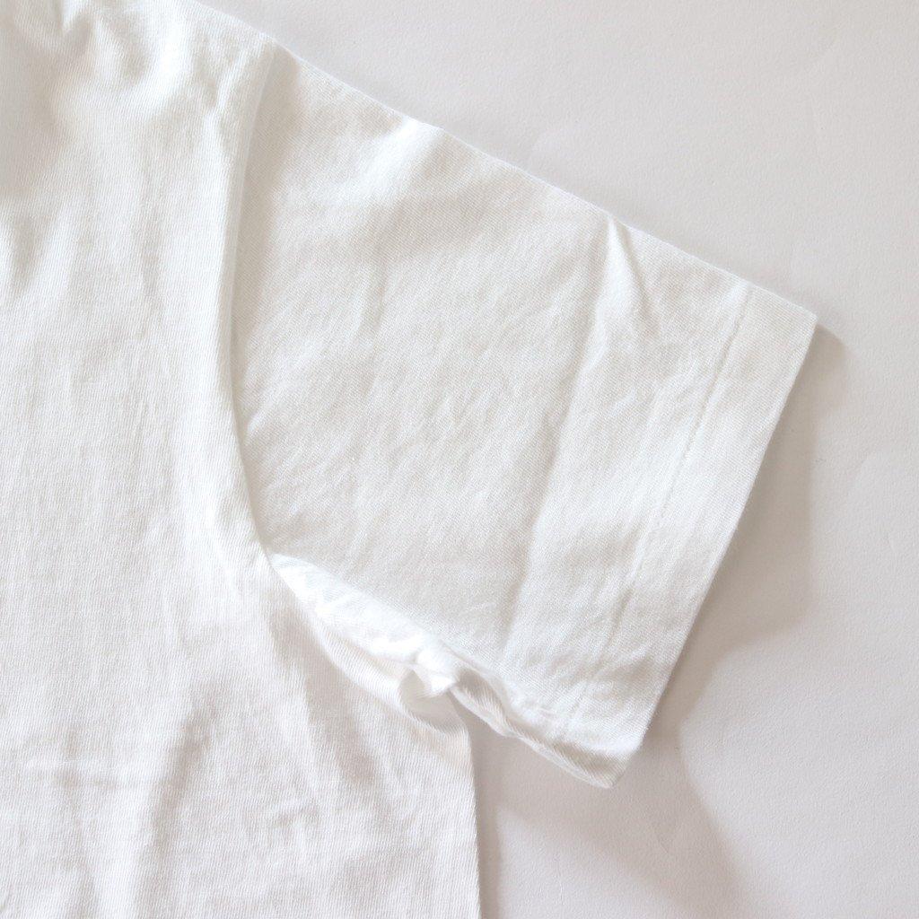 丸胴 CREW NECK TEE KEN KAGAMI - SMART ICECREAM #WHITE [88008]