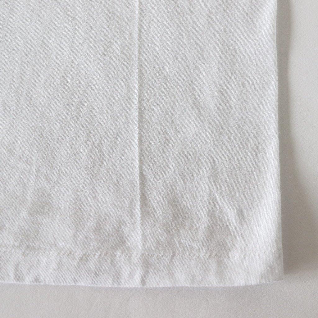 SEAMLESS CREW NECK BIG TEE #WHITE [A00T05ST]
