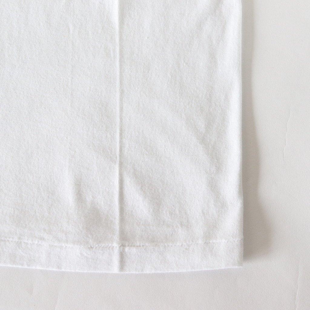AURALEE | オーラリー SEAMLESS CREW NECK TEE #WHITE [A00T01ST]