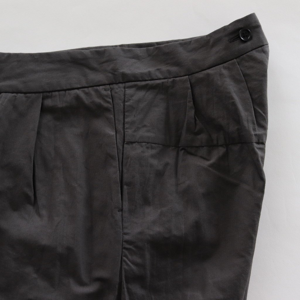 TUCK PANTS #BLACK [98607]
