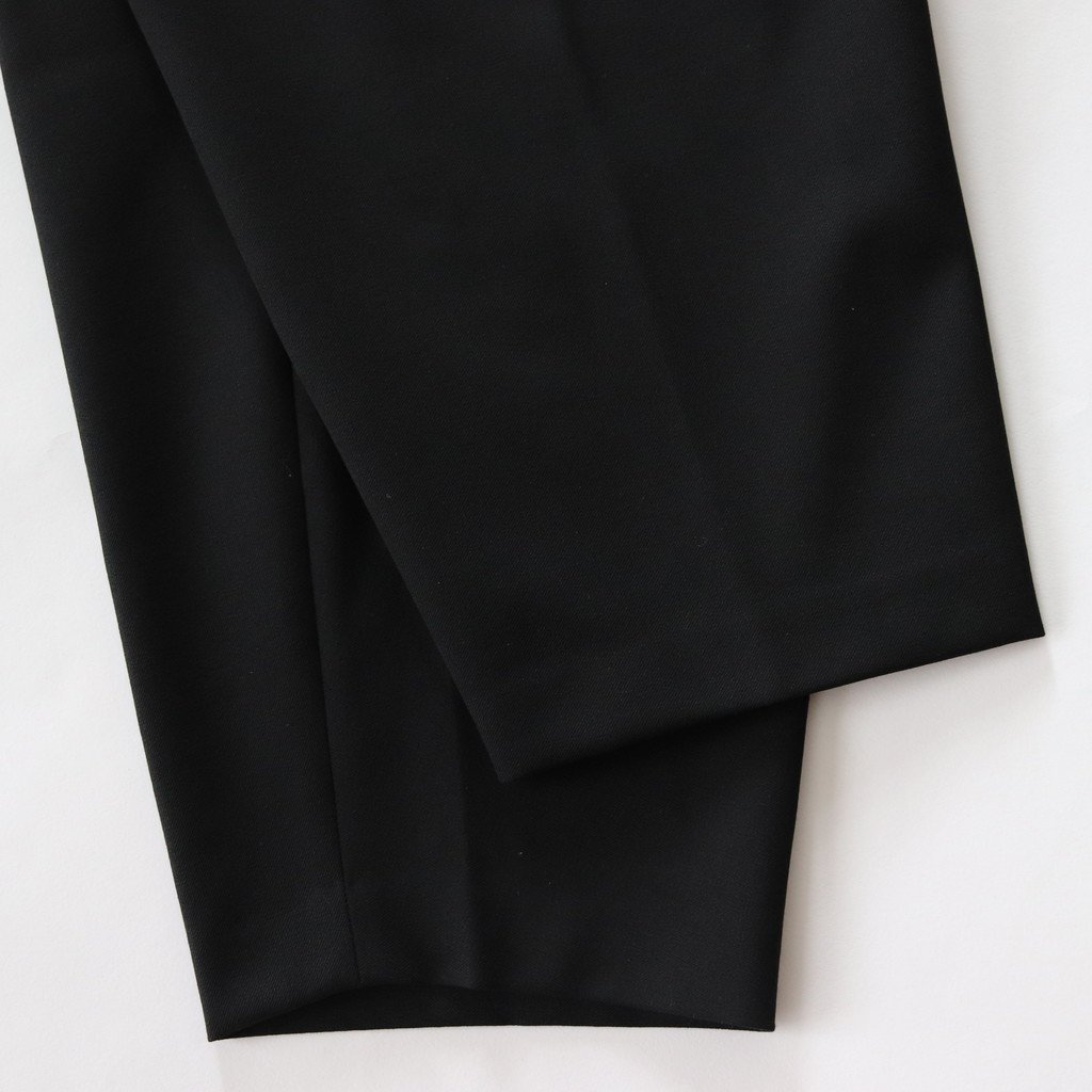 2WAY PANTS CROPPED #BLACK [08602]