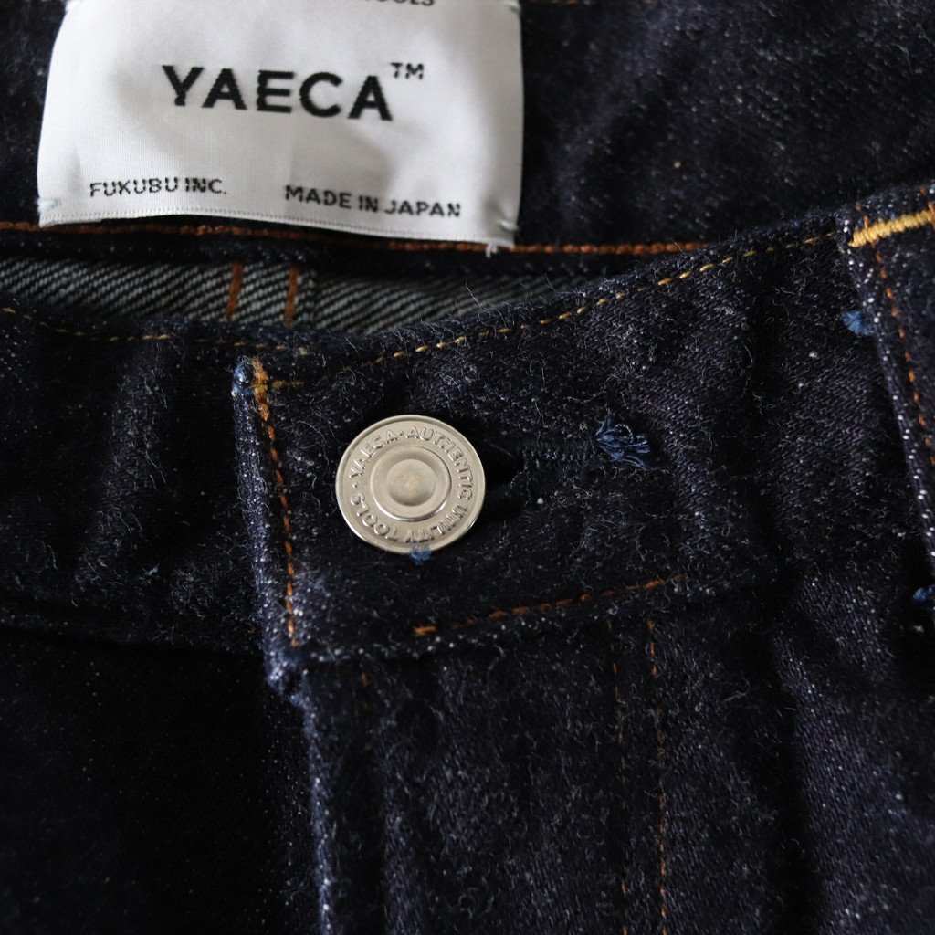 DENIM PANTS STANDARD #INDIGO [15-14w]