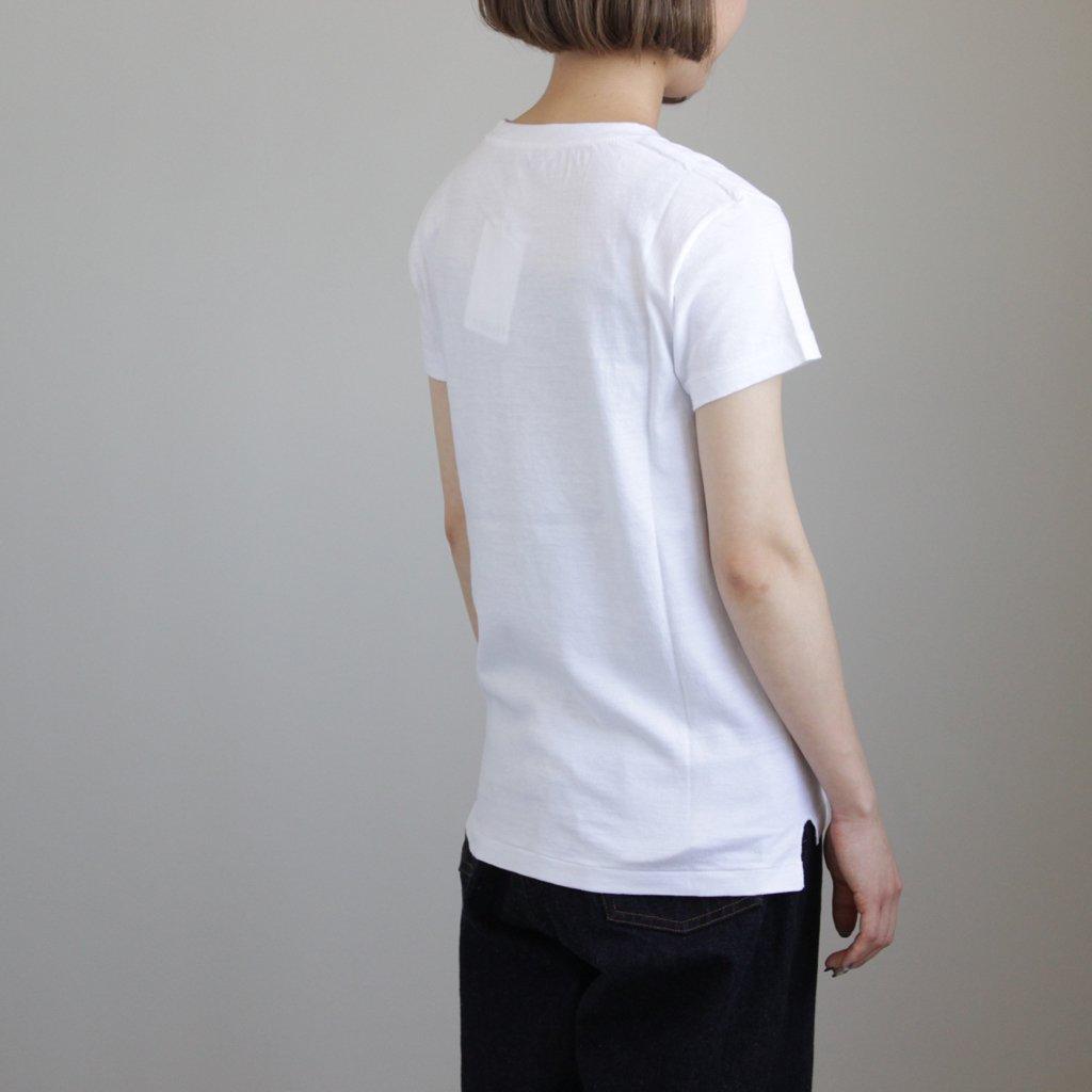 SEAMLESS CREW NECK TEE #WHITE [A00T04ST]
