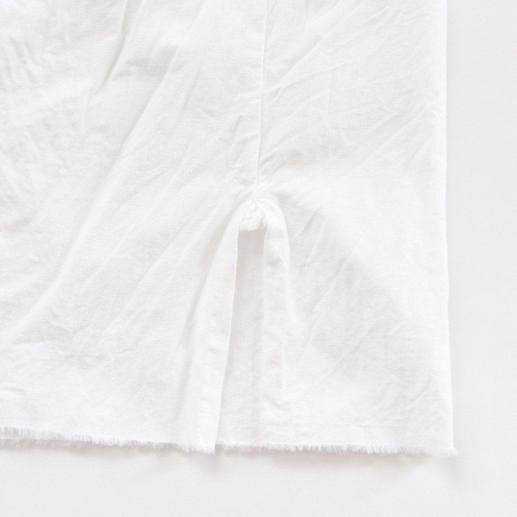 YAECA | ヤエカ GATHER BLOUSE #WHITE [98106]
