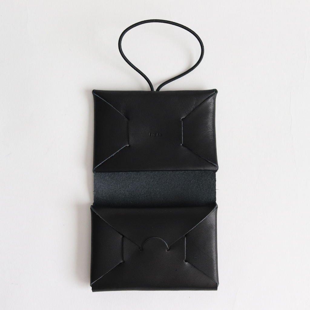 i ro se | イロセ SEAMLESS MINI WALLET #BLACK [ACC-SL11]