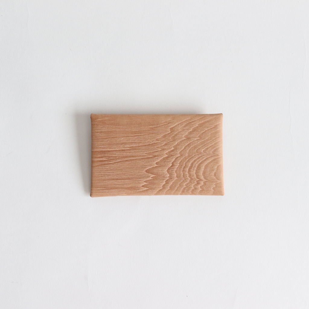 i ro se | イロセ SEAMLESS CARD CASE PLYWOOD #WOOD [ACC-SL01]