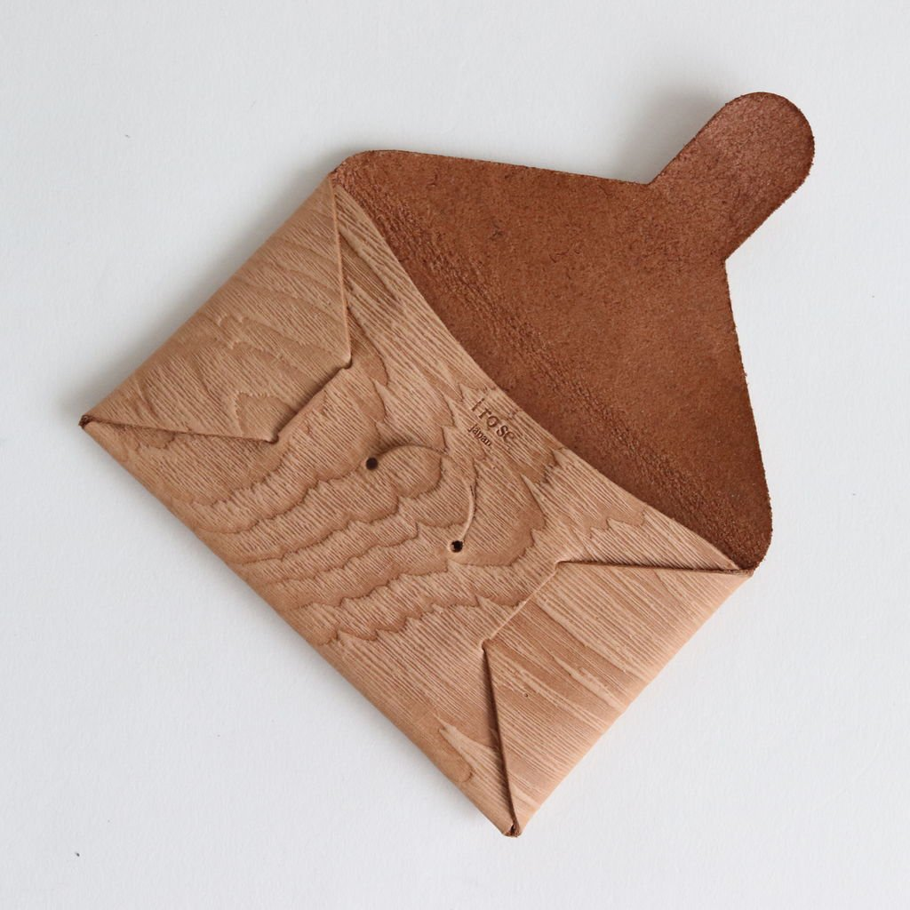 SEAMLESS CARD CASE PLYWOOD #WOOD [ACC-SL01]