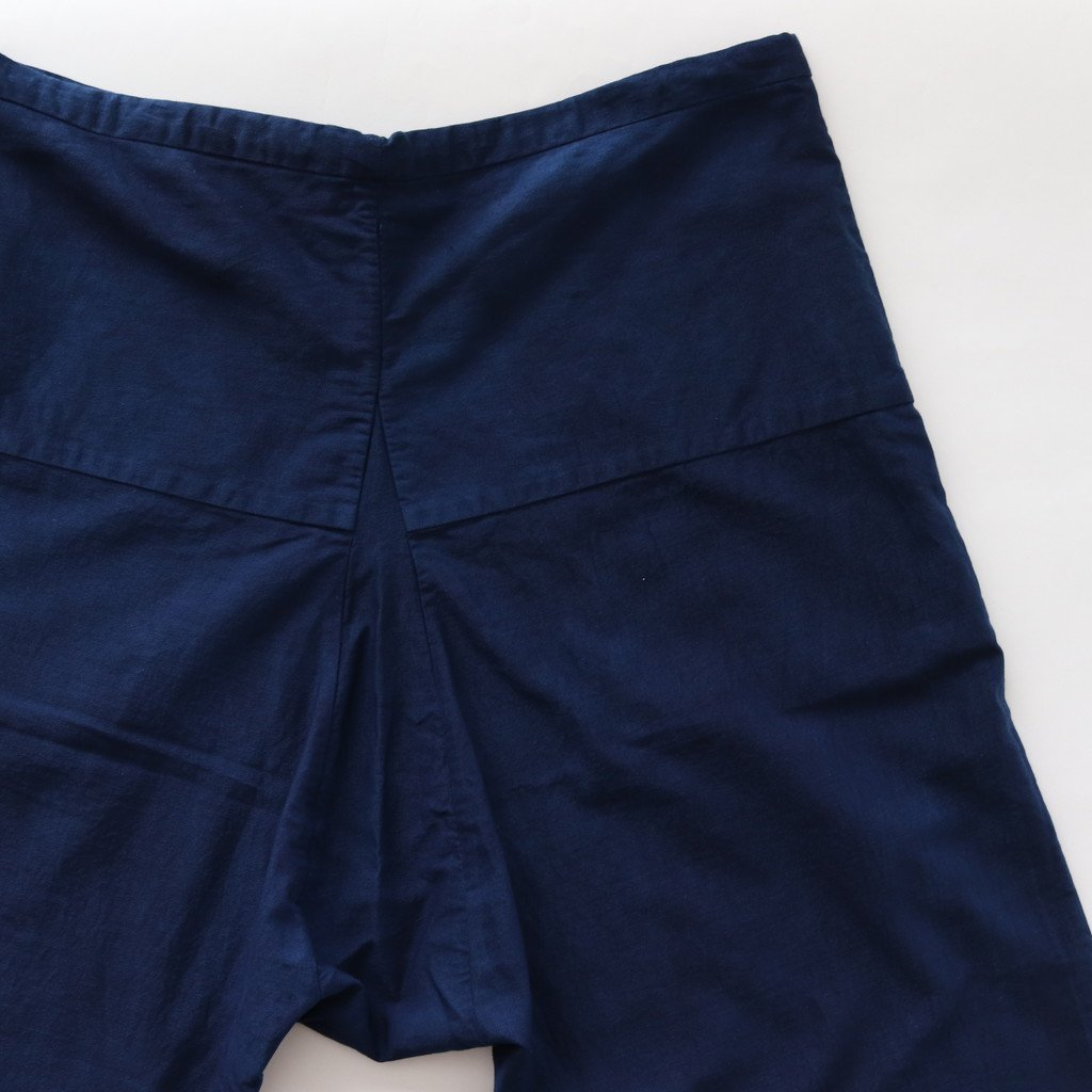 YAECA | ヤエカ EASY PANTS SARROUEL #INDIGO [68608]