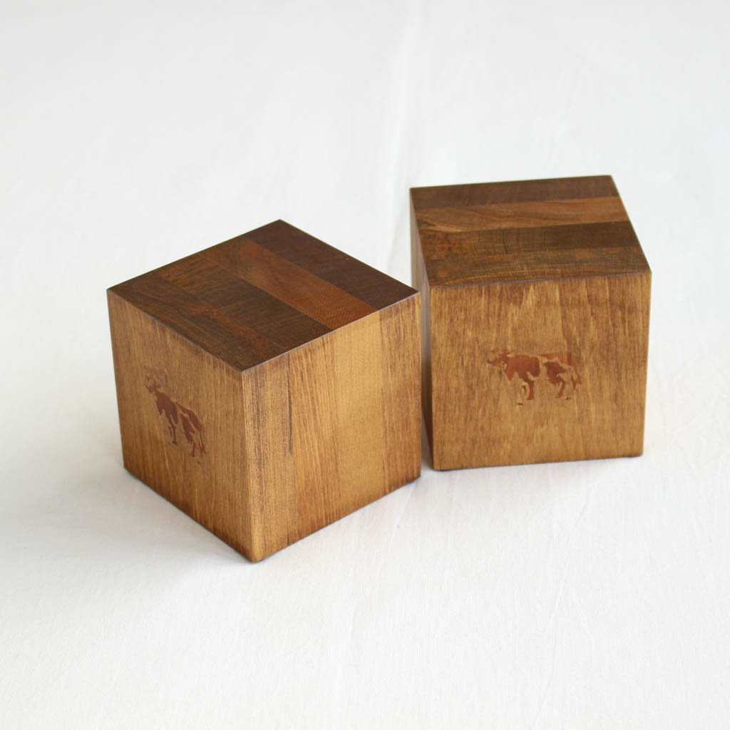 BOOKENDS - SMALL #NATURAL [COW-001]