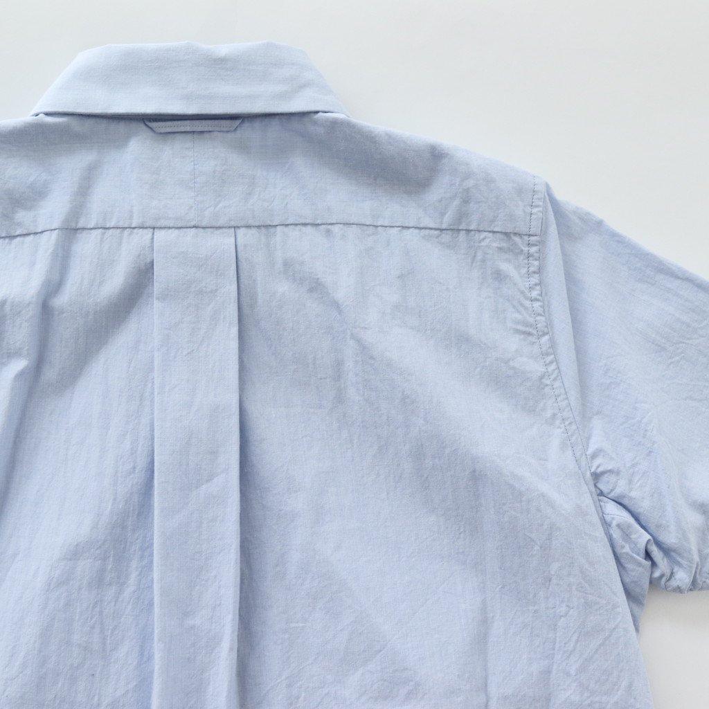 COMFORT SHIRT RELAX S/S #BLUE [68120]