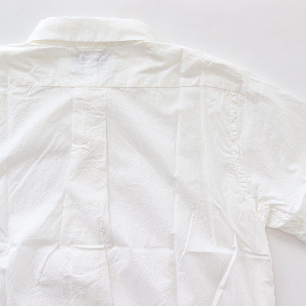 COMFORT SHIRT RELAX S/S #WHITE [18120]
