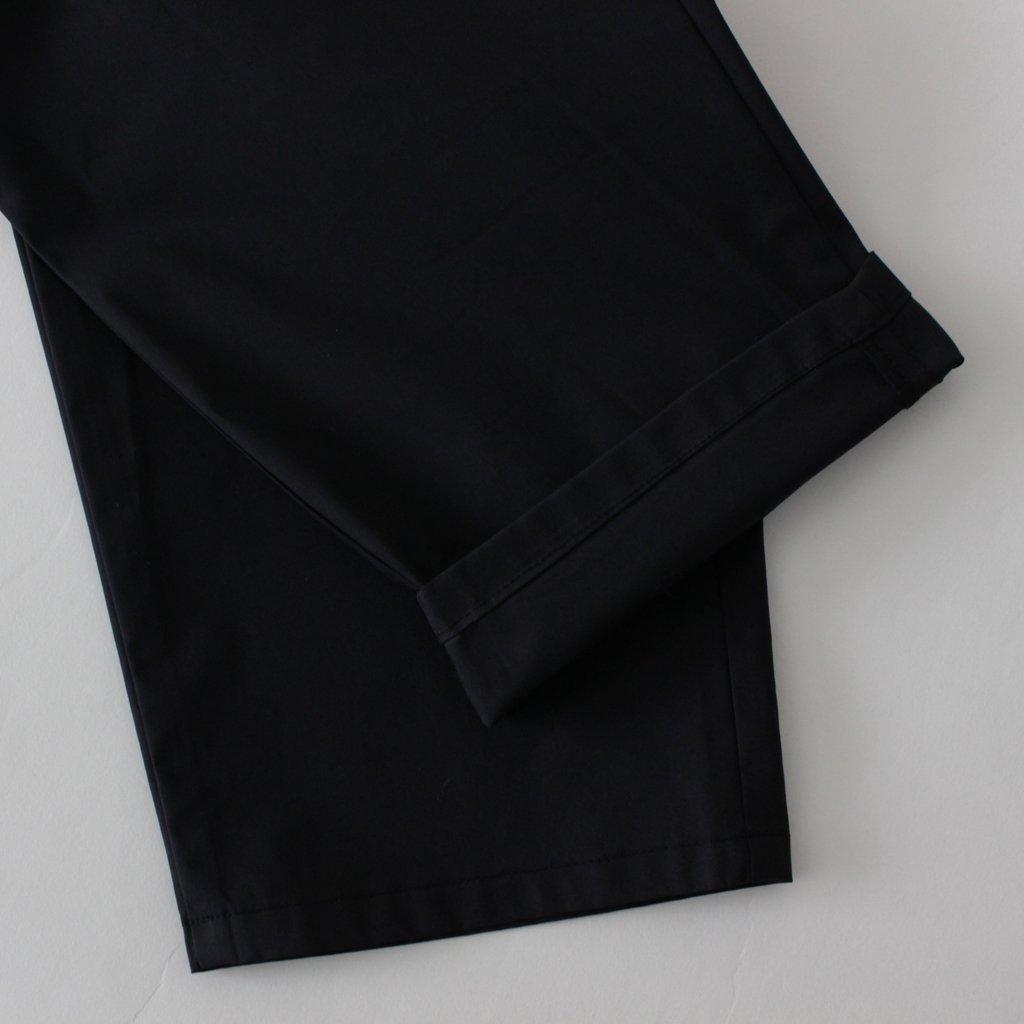 STRETCH TYPEWRITER COOK PANT #BLACK [GM182-40511B]