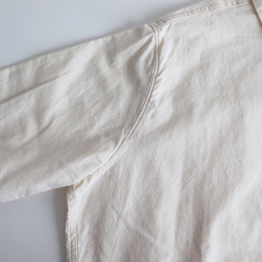 FCTSH 20sラフコットンシーチング スモールカラーワイドシャツ #NATURAL [A8-FR011SF]
