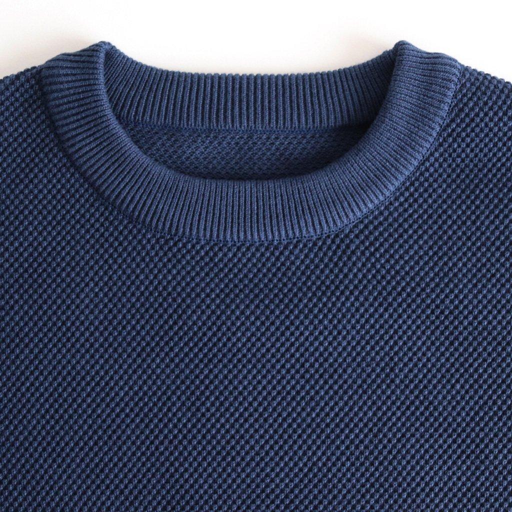 MOSS STITCH P/O #BLUE [1803-001W]