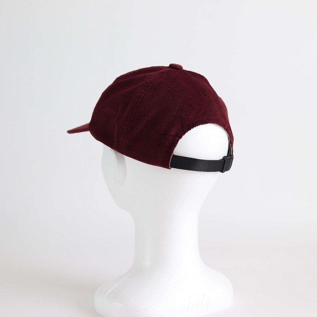 CORDUROY CAP #WINE [NO.13426]