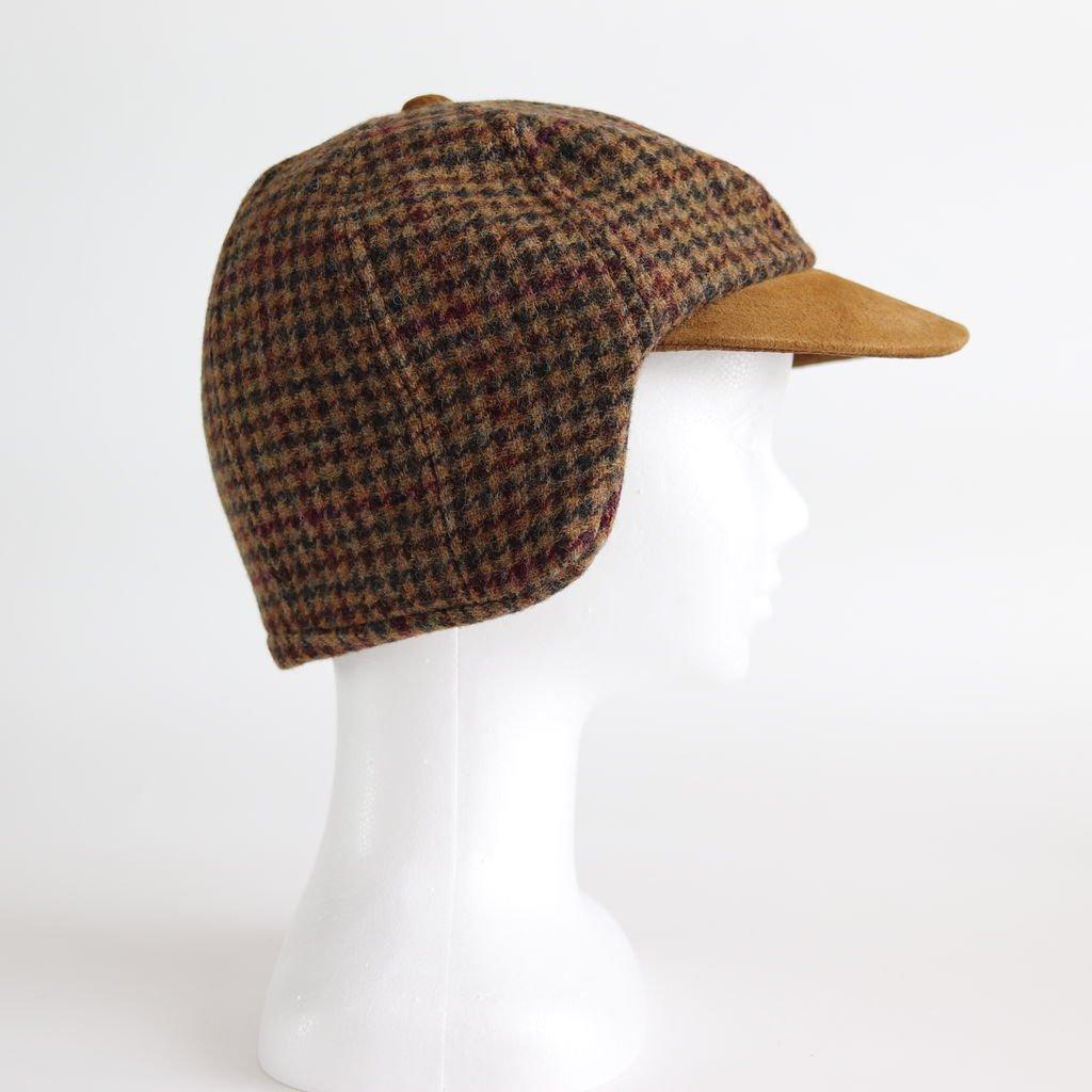 TWEED EAR CAP #CAMEL/BROWN [fl-c-ect]