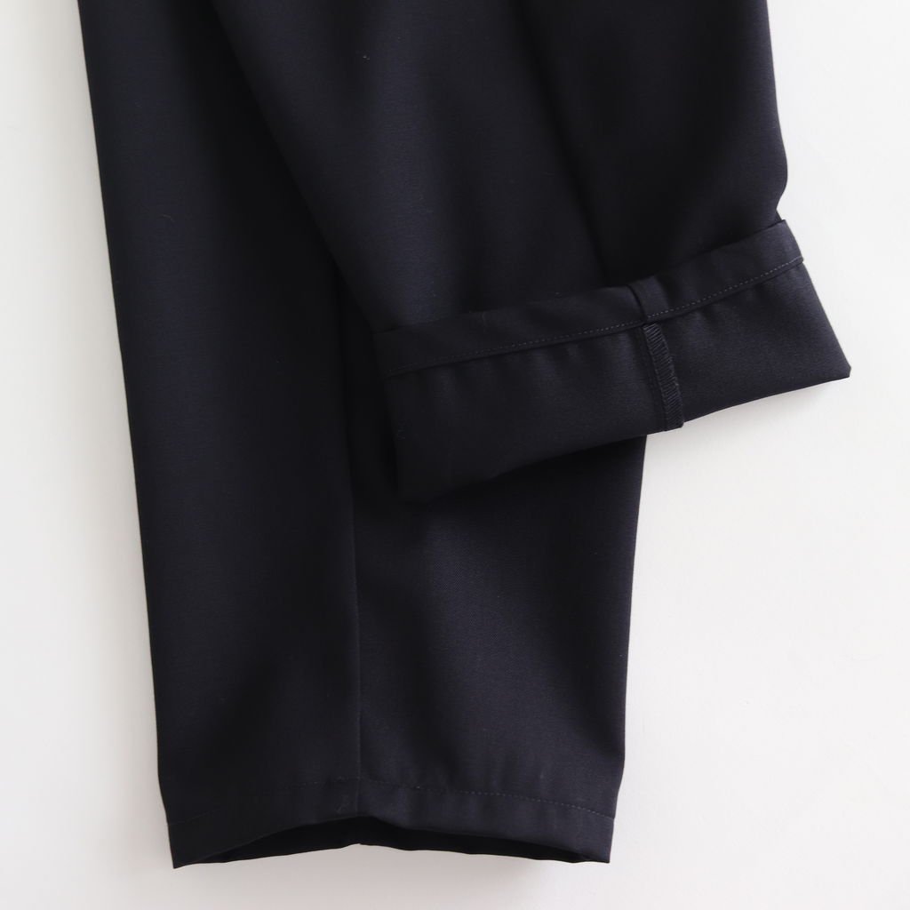 SELVAGE WOOL COOK PANTS #NAVY [GM183-40092B]