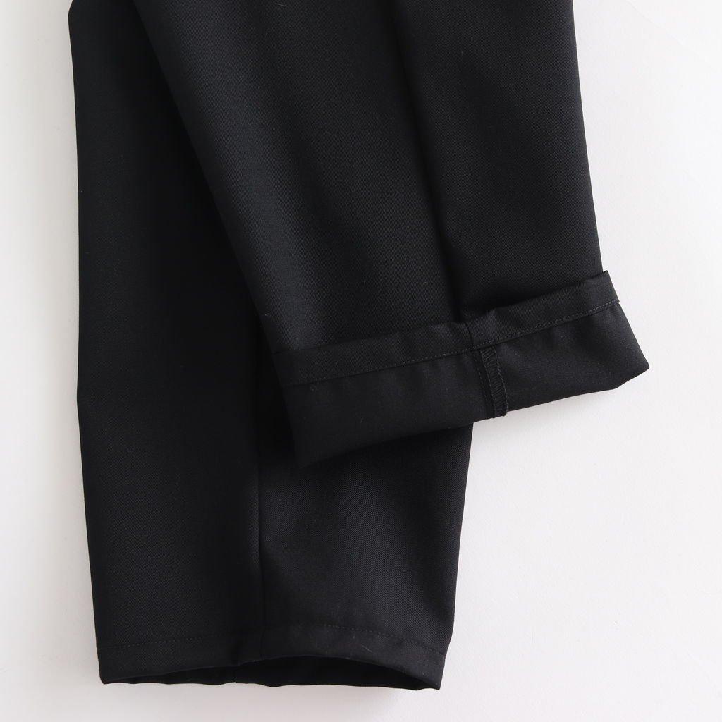 SELVAGE WOOL COOK PANTS #BLACK [GM183-40092B]