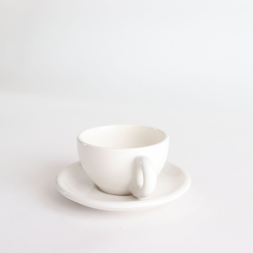 CUP&SAUCER #WHITE [LSCS-001-02]